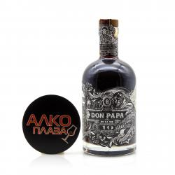 Rom Don Papa 10 Years Old 0.7l ром Дон Папа 10 лет выдержки 0,7л