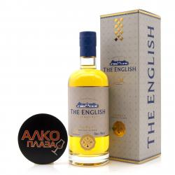 English Whisky Smokey Single Malt 0.7l gift box - виски Инглиш Смоки Сингл Молт 0.7 в п/у