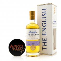 English Whisky Double Cask Single Malt 0.7l gift box - виски Инглиш Дабл Каск Сингл Молт 0.7 в п/у