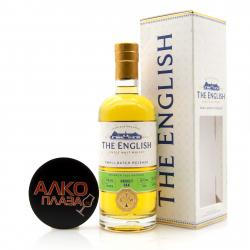 English Whisky Smokey Oak Single Malt in gift box - виски Инглиш Смоки Оак Сингл Молт в п/у