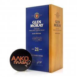 Glen Moray Single Malt Port Wood 21 years old - виски Глен Морей Сингл Молт Порт Вуд 21-летний 0.7 л