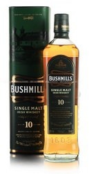 Bushmills Single Malt 10 years ирландский виски Бушмилс Сингл Молт 10 лет