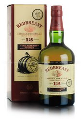 Redbreast 12 years Cask Strength виски Редбрест 12 лет Бочковой Крепости