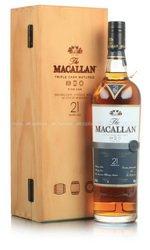 Macallan 21 years виски Макаллан 21 лет