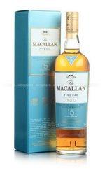 Macallan 15 years виски Макаллан 15 лет