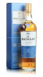 Macallan 12 years Fine Oak виски Макаллан 12 лет Файн Оак