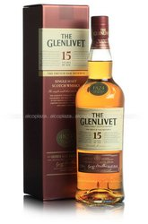 The Glenlivet 15 years gift box - виски Гленливет 15 лет 0.7 л п/у
