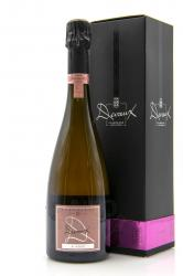 Devaux D Rose Brut Аged 5 years Champagne AOC gift box - шампанское Дево Д Розе Брют 5 лет 0.75 л в п/у