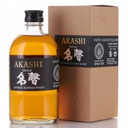 Akashi Blended Meisei in gift box - виски Акаши Блендед Мейсей 0.5 л в п/у