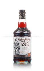 Captain Morgan Black Spiced ром Капитан Морган Чёрный пряный