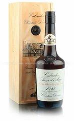 Christian Drouin Coeur de Lion Calvados Pays d`Auge 1993 Кальвадос Кер де Льон Пэи д`Ож 1993