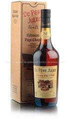 Le Pere Jules 20 ans кальвадос Ле Пэр Жюль 20 лет