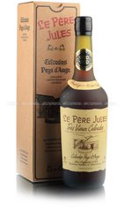 Le Pere Jules 40 ans 0.7l with gift box кальвадос Ле Пэр Жюль 40 лет 0.7 в п/у