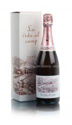 La Vida al Camp Cava Rose 0,75l Шампанское Ла Вида аль Камп Розе Кава 0,75л