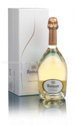 Ruinart Blanc de Blancs шампанское Рюинар Блан де Блан в п/у