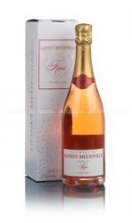 Gonet-Medeville Extra Brut Rose Premier Cru шампанское Гоне-Медвиль Экстра Брют Розе Премьер Крю