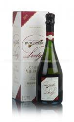Paul Goerg Brut Cuvee Millesime Lady F gift box французское шампанское Шампанское Поль Гоэрг Брют Кюве Миллезим Леди Ф в подарочной упаковке