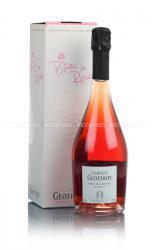Rene Geoffroy Champagne Rose de Saignee Premier Cru шампанское Рене Жеффруа Роз де Сэне Премьер Крю