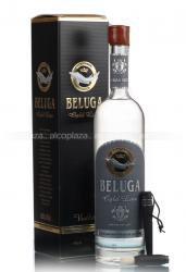 Beluga Gold Line Водка Белуга золотая линия с кисточкой в подарочной упаковке