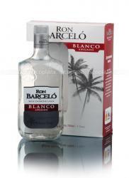 Barcelo Blanco ром Барсело Бланко белый в п/у со стаканом