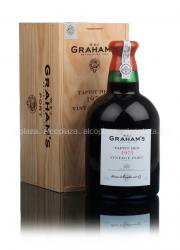 Grahams Vintage 1975 2.1L Wooden Box Портвейн Грэмс Винтаж 1975 г. 2.1 л.  в дер.уп.