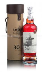 Sandeman 30 Years Old 0.75l Gift Box портвейн Сэндеман 30 лет 0.75 л. в п/у