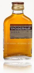 Коньяк Трофейный четырехлетний фляга 0.1