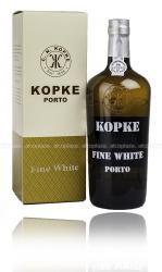 Porto Kopke Fine White 0.75l Gift Box портвейн Копке Файн Уайт 0.75 л. в п/у