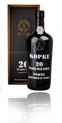 Kopke 20 years портвейн Копке 20 лет