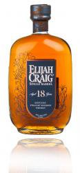 Elijah Craig Single Barrel 18 Years Old 0.75l виски Элайджа Крейг Сингл Баррел 18 лет 0.75 л.