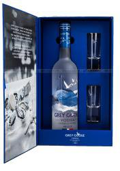 Vodka Grey Goose Водка Грей Гус + 2 рюмки в п/у