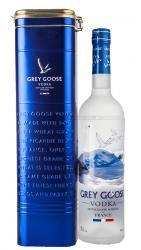 Vodka Grey Goose Водка Грей Гус в металлической тубе