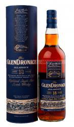 Glendronach 18 years Allardice виски Глендронах 18 лет Аллардис