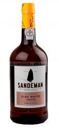 Sandeman White 0.75l портвейн Сандеман Вайт 0.75 л.