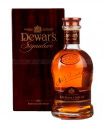 Dewar's Signature 21 years old - виски Дюарс Сигначер 21 год 0.75 л п/у