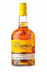 Irishman 17 Years Old Single Malt 0.7l Gift Box виски Айришмен 17 лет Сингл Молт 0.7 л. в п/у