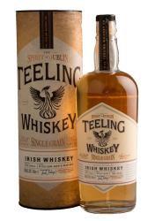 Teeling Irish Whiskey Single Grain 0.7l in Tube виски Тилинг Айриш Виски Сингл Грэйн 0.7 л.в тубе