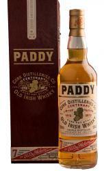 Paddy Centenary виски Пэдди Сентенари в д/у