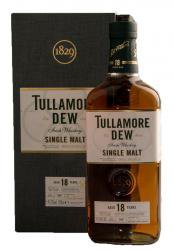 Tullamore Dew 18 years - виски Талламор Дью 18 лет 0.7 л